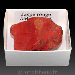 Jaspe rouge d'Afrique du sud