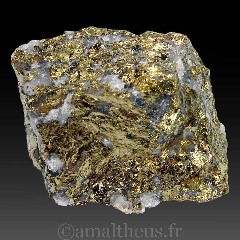 Chalcopyrite du Maroc