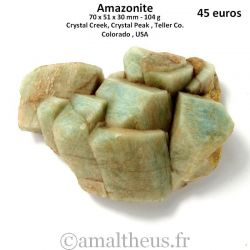 Amazonite - Colorado - USA