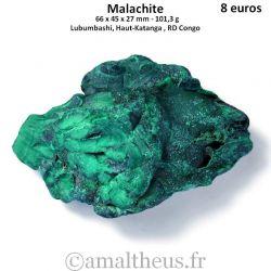 Malachite brute